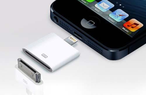Bộ chuyển đổi 30 chân sang 8 chân cho Iphone 5